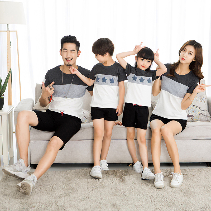 HTB1uPiGdqQoBKNjSZJnq6yw9VXas - Lovers Suit T Shirt Family Matching Outfits Mother Father Kids Girl Boys Shirts Clothes Mom Dad Son Outfits Family Look Clothing