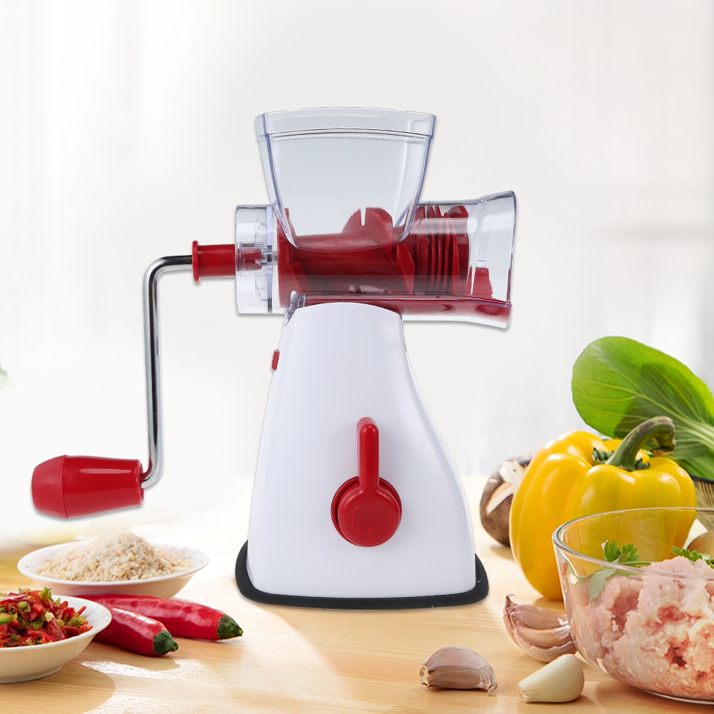 Household Compact Manual Meat Grinder Hand-Power Food Chopper Mincer Mixer Blender To Chop Meat Fruit Vegetables Chopper eilemo meat grinder cutting machine meat slicer mincer cutter portable manual hand blender mixer food processor