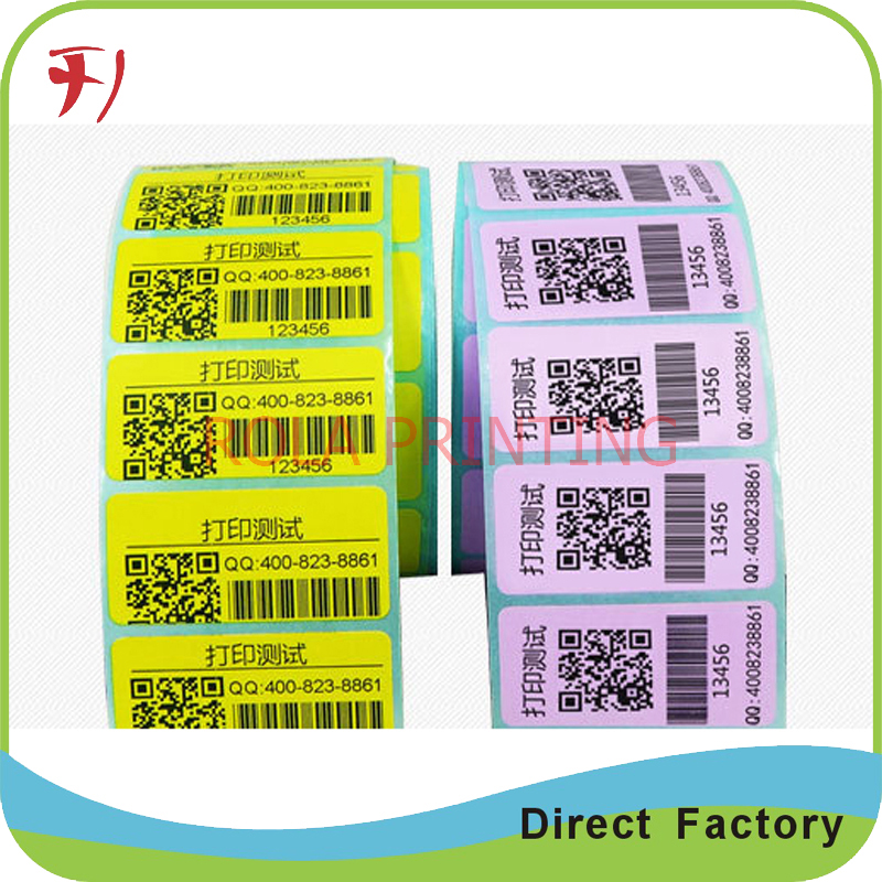 Customized 100% manufacture printing custom sticker promotion, pet promotional label sticker, removable promotion label stikcer
