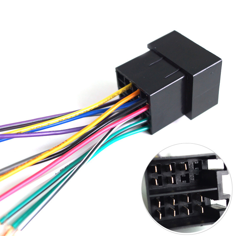 Car OEM Audio Stereo Wiring font b Harness b font For Volkswagen Audi font b Mercedes online get cheap cable harness mercedes aliexpress com alibaba mercedes stereo wiring harness adapter at readyjetset.co