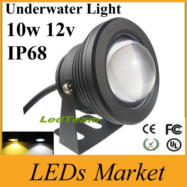 Cree Led Pool Light Lamp 10w 1000lm Fountain 12v Underwater Outdoor Landscape Lighting 7 Colors In Lights