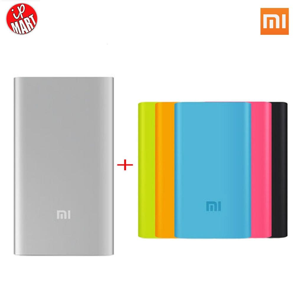 Original Xiaomi Power Bank 5000mAh Xiaomi 5000 Li ion Polymer Battery 5000mah Power Slim Powerbank Charger