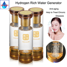 MRETOH and hydrogen generator H2 electrolysis Molecular Resonance Effect Technology water Hydrogen Rich cup