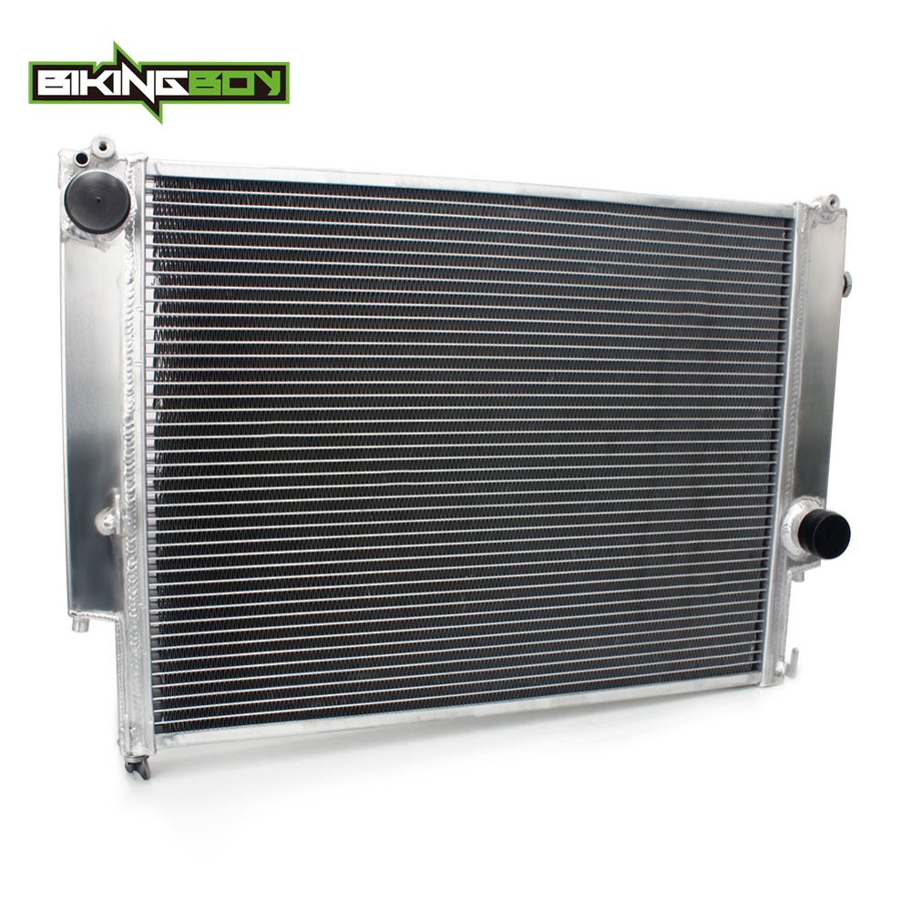 BIKINGBOY de aluminio del coche de enfriamiento del motor del ventilador de enfriamiento para BMW E36 Manual de transmisión 1992, 1993, 1994, 1995, 1996, 1997, 1998, 1999