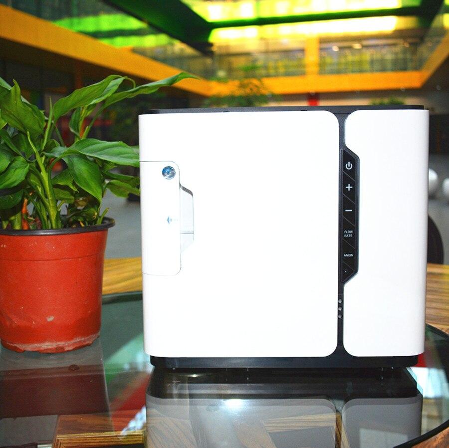 Yuwell концентратор кислорода Портативный генератор кислорода медицинского оборудования дома кислородный бар ЖК-дисплей Дисплей YU300 высокая ...