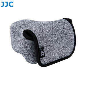 Image 3 - JJC רך ראי מצלמה תיק קטן Neoprene עמיד למים מקרה פאוץ עבור Sony A6100 A6600 A6500 A6300 A6000 Canon M10 G3 X SX520