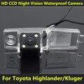 For Toyota Highlander 2002 2003 2004 2006 2007 2008 2009 2010 2011 2012 Kluger Car CCD Night Vision 4LED Backup Rear View Camera