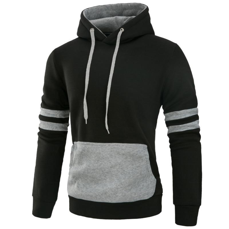New Fashion Hoodie Men casual Hoodie Pullover Long Sleeve hooded Streetwear hoodies
