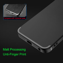 Unti-finger print Matt Case for iPhone 5S 5 5SE with bright line Rubber TPU silicone material 0.8mm ultra-thin free shipping