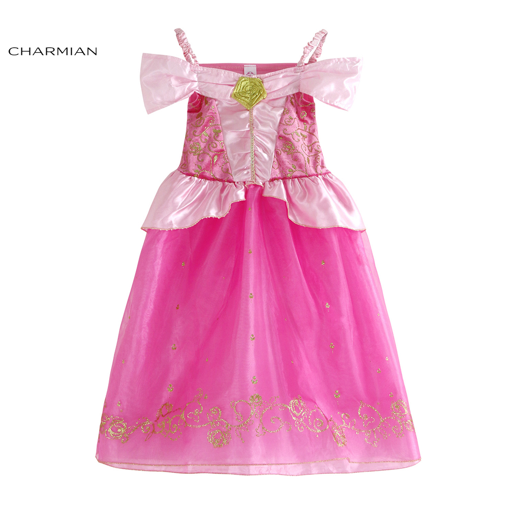 Charmian Beauty Girl Dress Princess Halloween Costume for Kids Princess Fancy Dress Carnival Cosplay Evening Party Girl Clothing