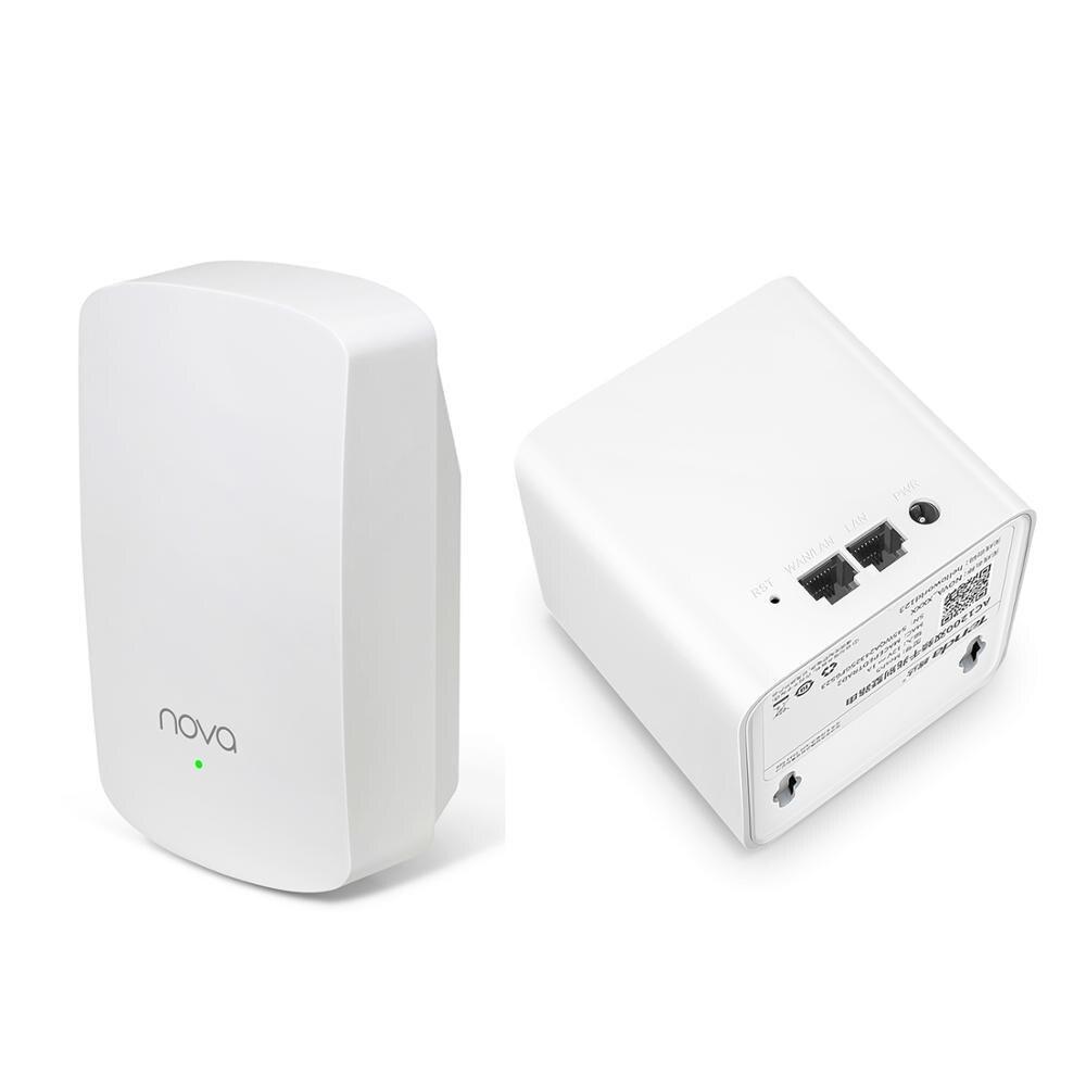 Tenda Nova MW5 sans fil Wifi routeurs à mailles AC1200 double bande 2.4 Ghz/5.0 Ghz Wi-fi répéteur système d'extension APP à distance pour la maison Soho - 2