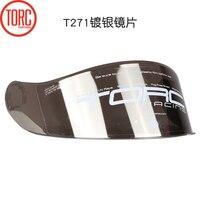 TORC T271 FLIP UP HELMET VISOR T18 Smoke Visor