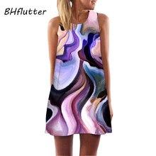Popular Tank Chiffon Beach Dress Sleeveless Sundress-Buy