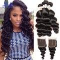 3 bundles burmese virgin hair with closure 7a burmese loose wave virgin hair with lace closure unprocessed virgin burmese hair