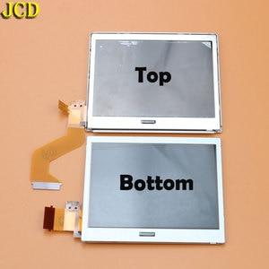 Image 1 - JCD 1 pcs למעלה תחתון עליון תחתון LCD מסך עבור NDSL משחק אביזרי תצוגת מסך עבור Nintend DSLite DS Lite