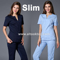 Medico uniformes hospital women medical robe scrubs clothing dental clinicos beauty salon nurse work wear slim surgical suit spa