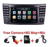 2018 новый автомобильный DVD плеер для Mercedes Benz E Class W211 W209 W219 Радио Стерео gps навигации Системы Бесплатная Камера + карта