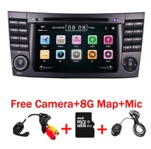 цена на 2016 New Car DVD Player For Mercedes-Benz E Class W211 W209 W219 Radio Stereo GPS Navigation System Free Camera+Map