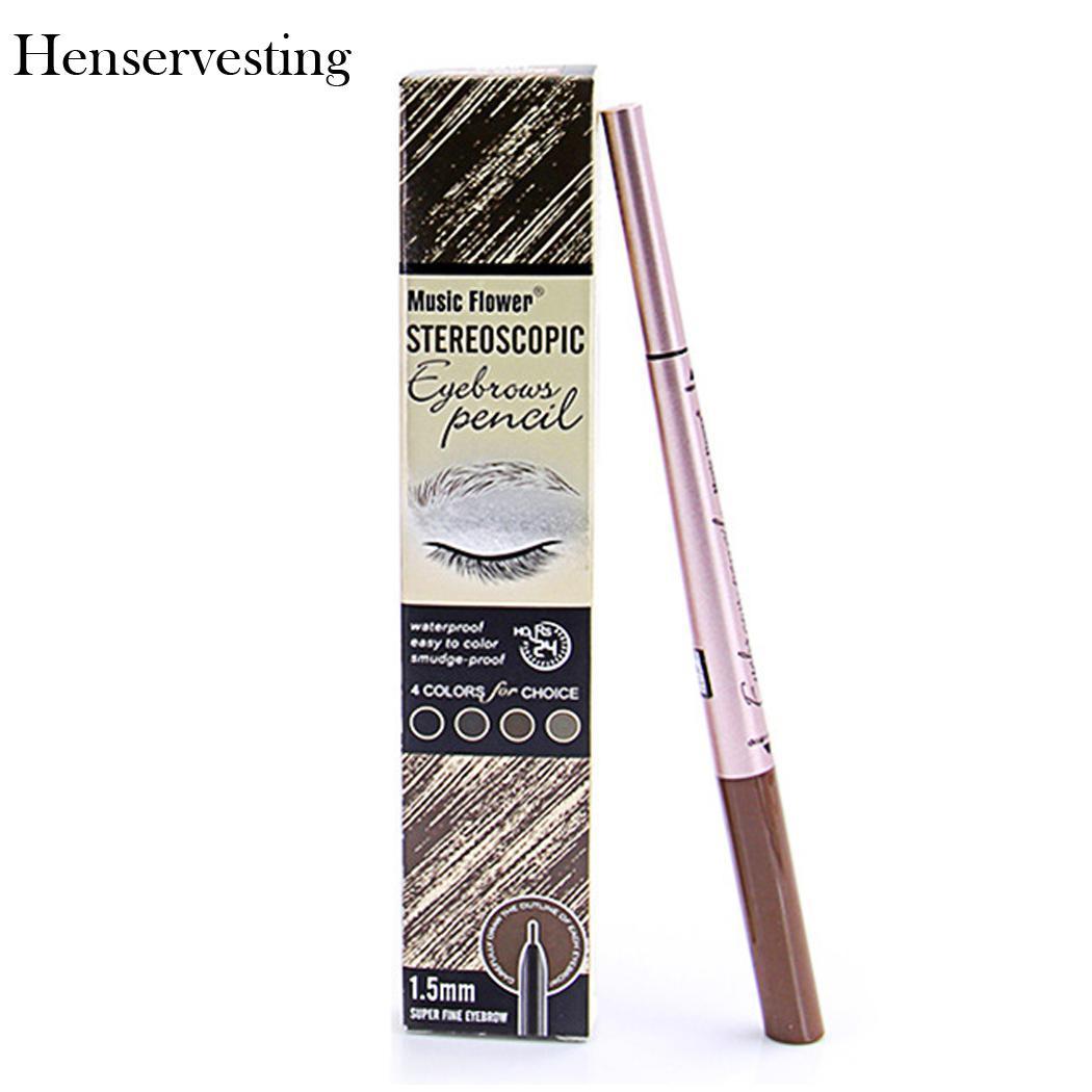 Карандаш Водонепроницаемый для бровей дважды конец брови Enhancer Pen косметическая инструменты