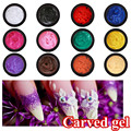 Candy Lover Popular Colors 4D Miniature Carving Gel Relief UV Painting Nail Art Tip Creative Decoration Beauty