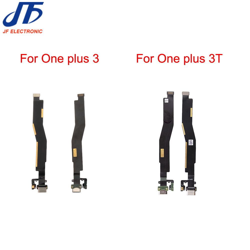 For Oneplus Three Dock Connector Charger Charging Port USB Flex Cable For One Plus 3 & 3T Replacement Part