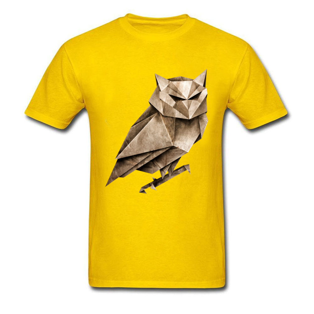 Tops T Shirt Owligami ostern Day Brand Fitness Tight Short Sleeve Pure Cotton Round Collar Men T Shirt Fitness Tight Tees Owligami yellow