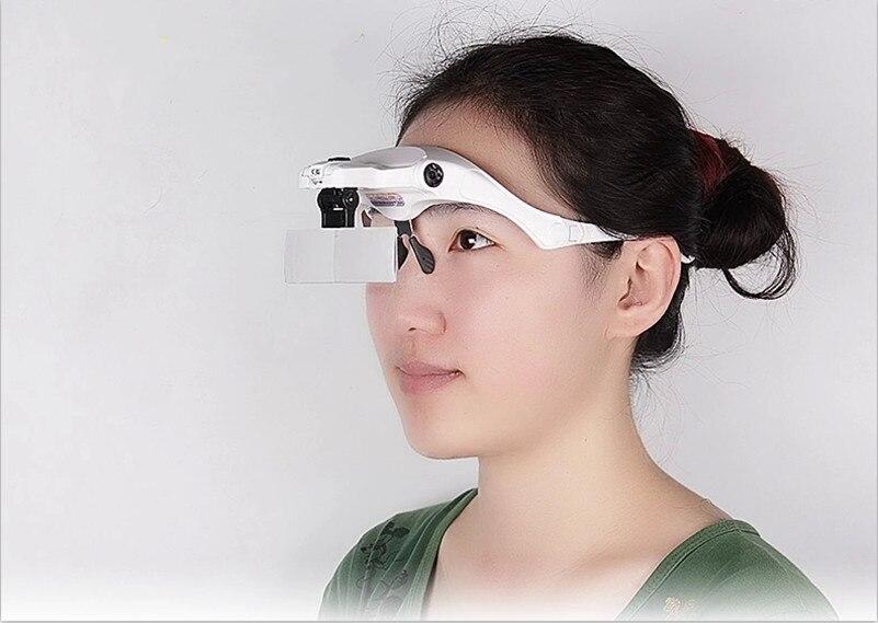 1PCS forstørrelsesglass øyenvippe forlengelse LED lys - Tatovering og kroppskunst - Bilde 6