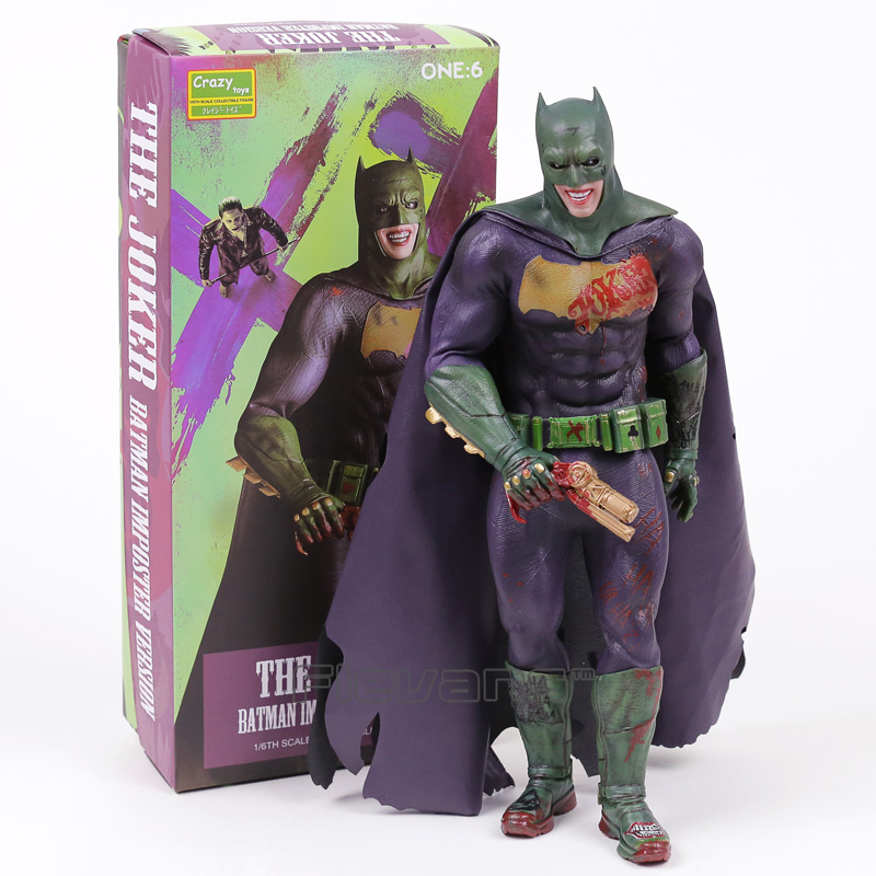 Crazy Toys The Joker Batman Imposter Version 1 6th Scale Collectible Figure Toy 30cm