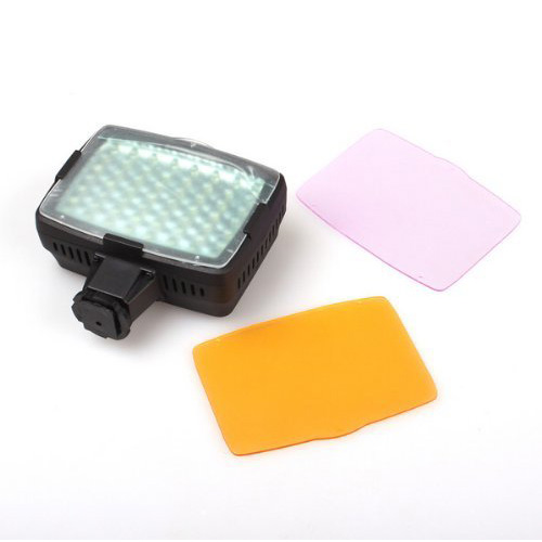 2x <font><b>5400K</b></font> <font><b>LED</b></font> Video Light Lamp for Camera DV Camcorder Lighting