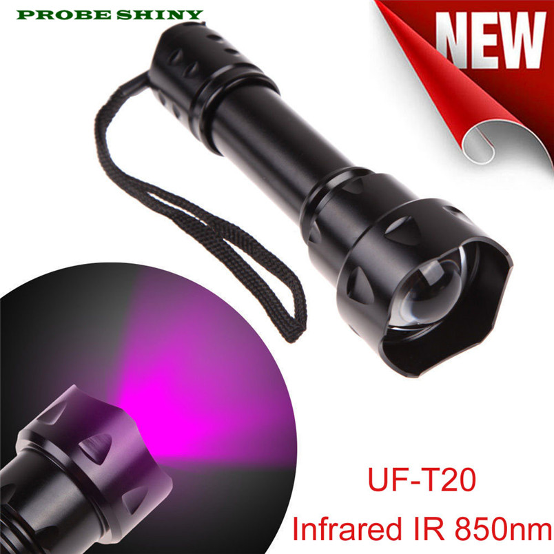 HOT!!! Outdoor UF-T20 Infrared IR 850nm Night Vision Zoom Led Flashlight Lamp Free Shipping #NO30HOT!!! Outdoor UF-T20 Infrared IR 850nm Night Vision Zoom Led Flashlight Lamp Free Shipping #NO30