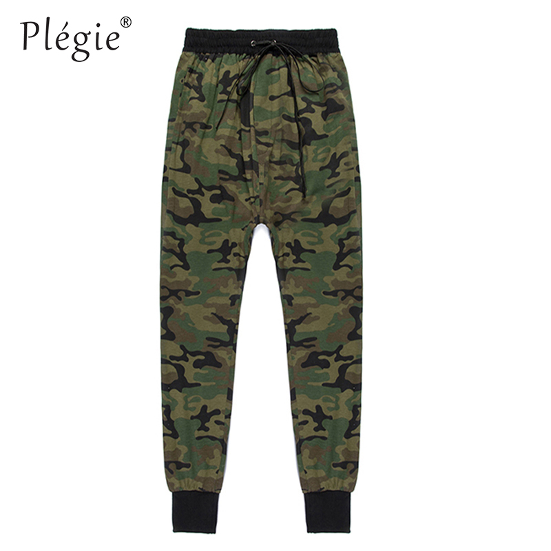 Plegie Mens Hip Hop Military Urban Clothing Camo Joggers Sweats Harem Pants Cool Sweatpants Jogers Trousers Militar Camouflage