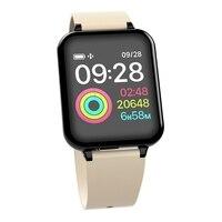 2019 Men Women B57 smartwatch Heart Rate Monitor Blood Pressure for Huawei Samsung xiaomi phone Smart Watch B57 waterproof