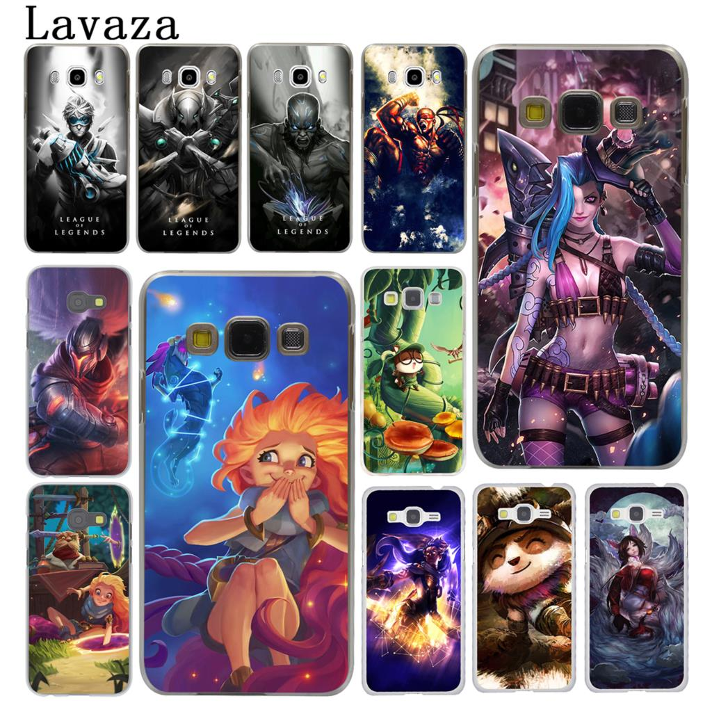 Lavaza League of Legends lol Teemo Lee Sin Hard Case for Samsung Galaxy J7 J1 J2 J3 J5 2015 2016 2017 Prime Pro Ace 2018 Cover