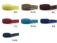 HAWARULU 2yard 1.7cm Handmade DIY pillow mat lace clothing accessories Christmas Hallowmas wedding gift