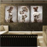 3 Piece Free Shipping Modern Wall Painting Beauty Nude Women Home Decorative Art Picture Paint On Canvas Prints Decor