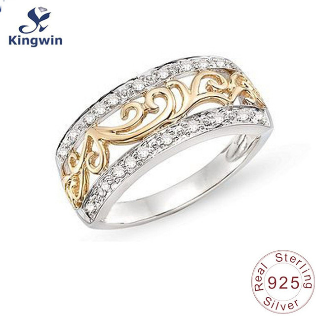 anniversary white promise amazon cz crystal plated love gold s women engagement eternity rings rose lady eternal com best dp kc