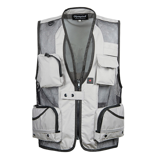 Men's Vest SWAT Tactical Military Combat Paintball Quick Dry Mesh Vest Summer Field Photography Work Multi Pockets Vest