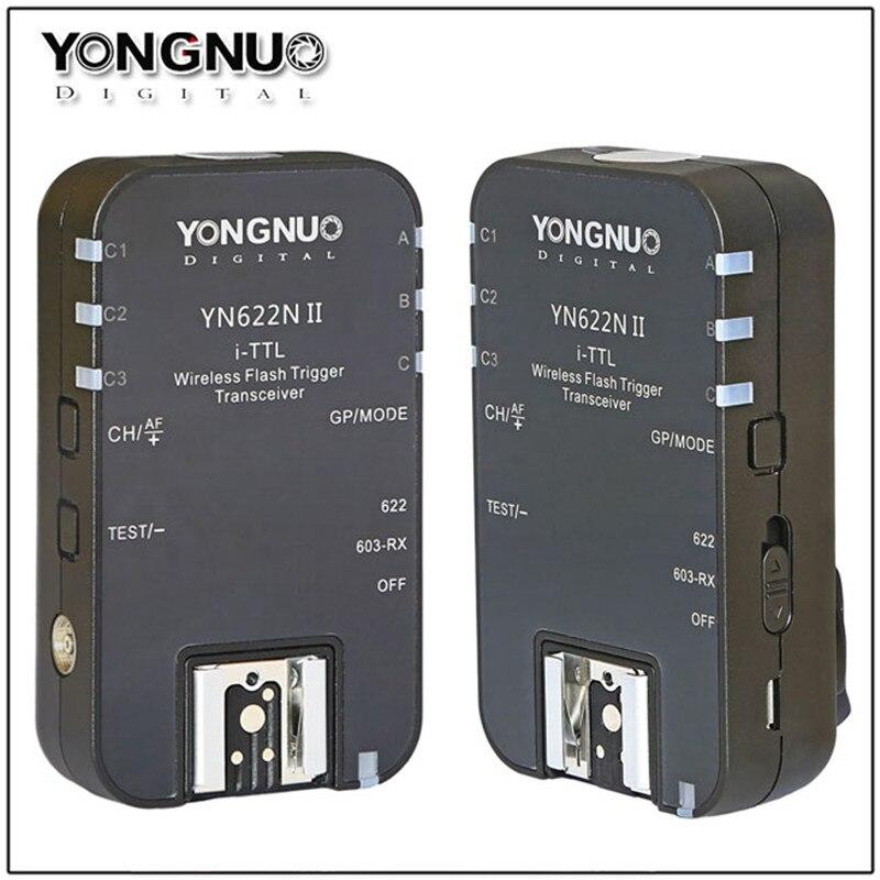 YONGNUO YN-622N II YN622N II i-TTL Wireless Flash Trigger Transceiver for Nikon D800 D700 D600 D610 D300 for Yongnuo YN565 YN568