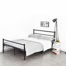Aingoo Structure Stainless steel double bed Frame Good-looking and modern style Bedroom Furniture Large loading Ability king bed