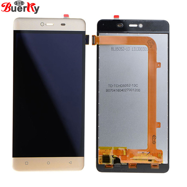 BKparts  High Quality For Allview P8 Energy Mini Full LCD Display Touch Screen Glass Digitizer Complete Assembly Replacement
