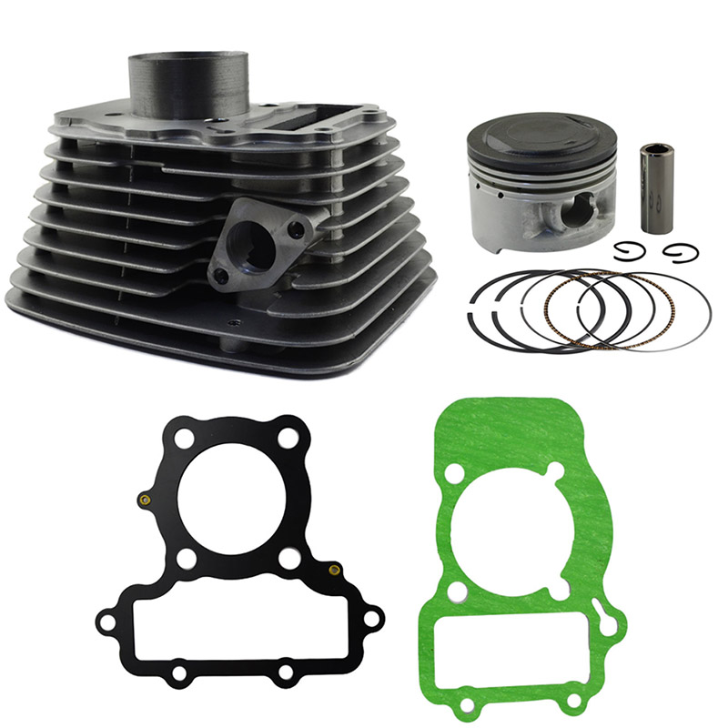 1 Set of Motorcycle Engine Parts Rear & Front Cylinder For YAMAHA XV250 XV 250 Air Cylinder Block & Piston Cylinder Head Gasket motorcycle cylinder kit 250cc engine for yamaha majesty yp250 yp 250 170mm vog 257 260 eco power aeolus gsmoon xy260t atv
