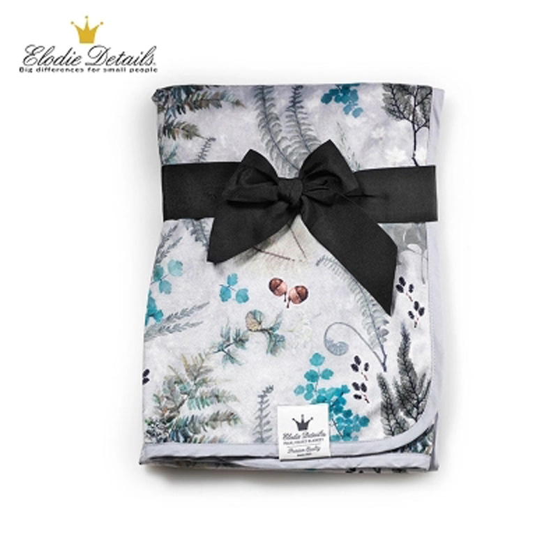 Elodie Details Velvet Baby Blanket Quality Baby Swaddle Wrap Swaddling Warm Bedding Soft kids Infant Blanket spring And Autumn removable liner baby infant swaddle blanket 100