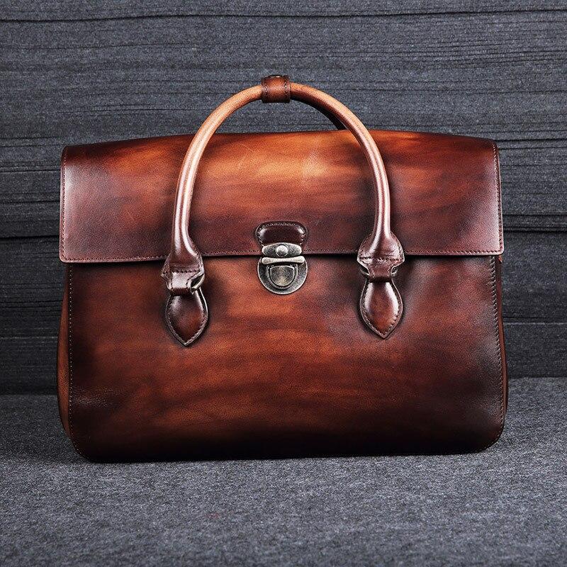 Pier quality handmade men's leather handbags, handbags, briefcases туфли pier one pier one pi021awuyi57