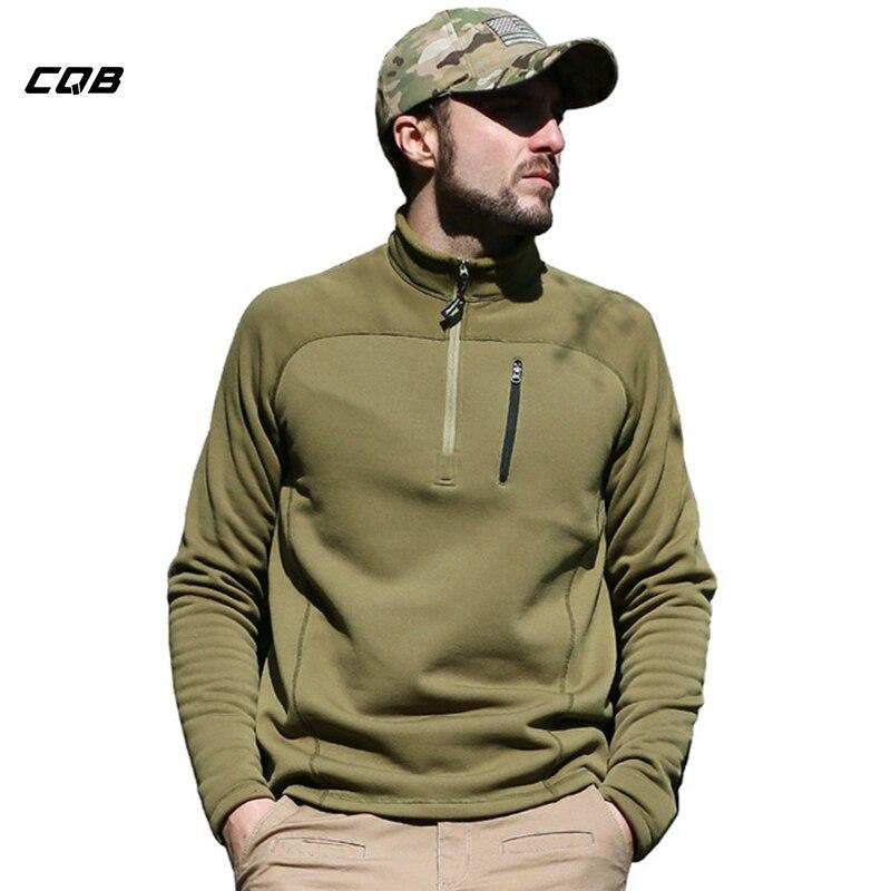 CQB Высокое качество открытый флисовые куртки Термальность Polartec Военная пуловер из флиса Polartec Военная анти-пиллинг флис