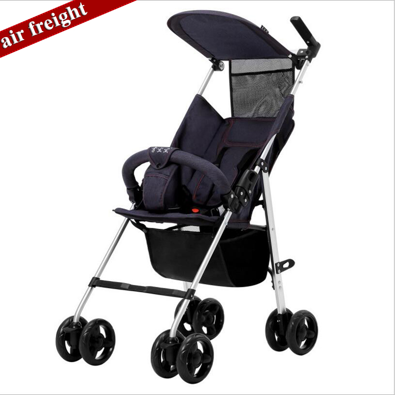 2019 Latest Baby Stroller Folding Lightweight Ultra Small Children's Trolley Portable Simple Baby Umbrella 3.9KG