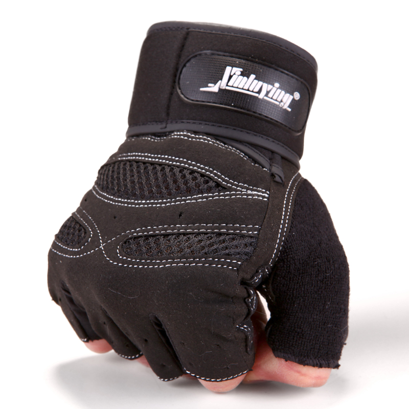 Adidas Long Finger Performance Gloves Weight Lifting: Gym Body Building Fitness Gloves Sports Weight Lifting