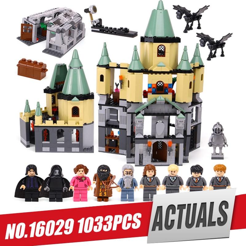 Free shipping Lepin 16029 Genuine Movie Series The Magic castle set legoing 5378 Educational Building Blocks Bricks Toys Model
