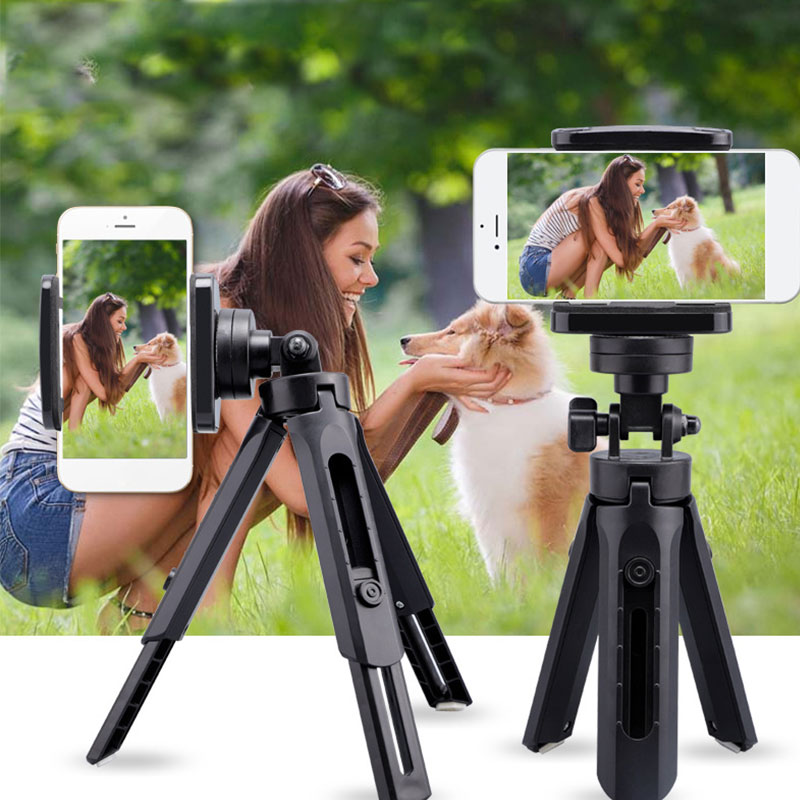 Protable Flexible Selfie Stick Tripod Phone Camera Stand Holder 360 Degree Rotation For iPhone SamSung Xiaomi OnePlus image