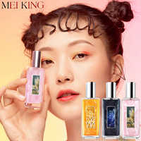 Meiking perfume atomizador perfumado de longa duração perfume original frasco orquídea rosa fragrância 30ml