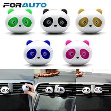 Air-Freshener Car-Perfume Interior-Decoration Auto-Accessories Panda-Eyes Air-Vent-Clip